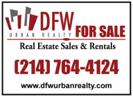 About DFW Urban Realty