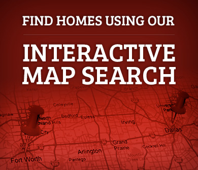 Dallas TX Real Estate Map Search